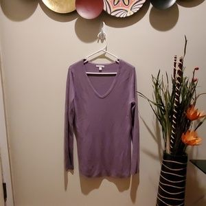 Lavender Sweater NY & Co